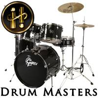 Drum Masters 2: Motown Soul Stereo Drum Kit<BR>Infinite Player library for Kontakt