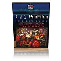 Neil Peart Drums Vol. 2 Modern Grooves: Artist Pak for Stylus RMX